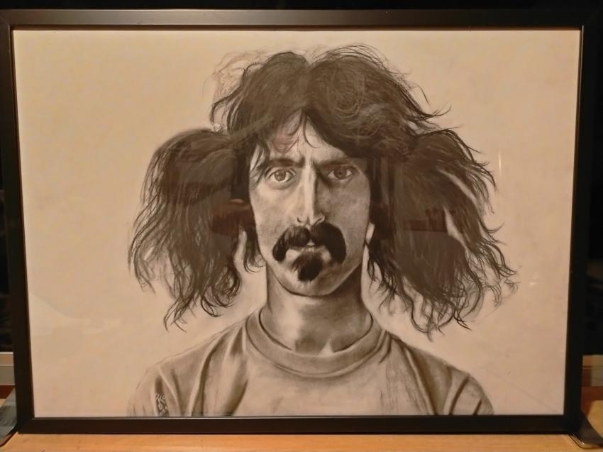 Frank Zappa par KituC